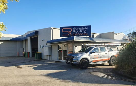 Sunshine Coast  Roofing Services Showroom