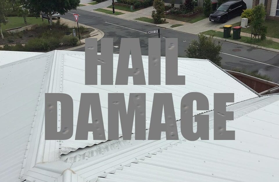Hail Damage Metal Roof Replacement Caloundra